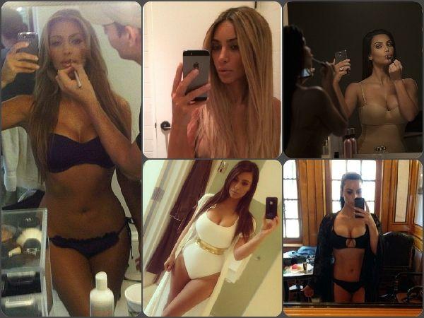 World Photography Day 2015: Celebrate Wit Kim Kardashian's Wild Selfies!