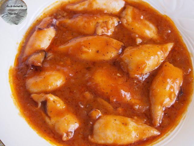 En La Cocina De Maribel: Chipirones en salsa americana