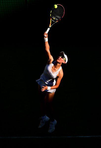 Saisai Zheng in Day Two: The Championships - Wimbledon 2015