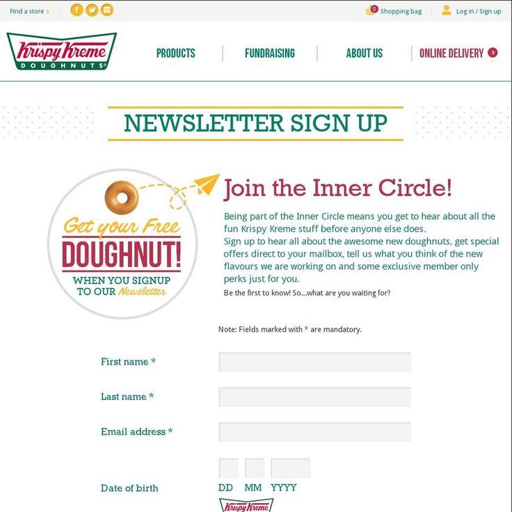 Free doughnut free 10 online coupon free 6x doughnuts