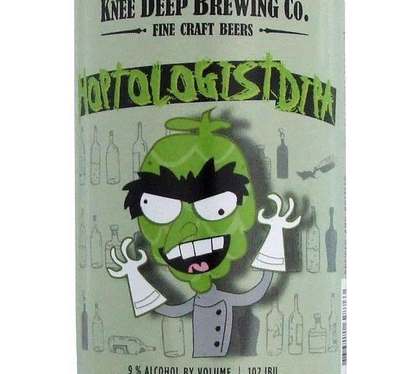 Knee Deep Hoptologist 650ml Beer in New Zealand - http://www.americanbeer.co.nz/beer-from-usa-in-nz/knee-deep-hoptologist-650ml-beer-in-new-zealand/ #american #usa #beer #nzbeer #NewZealand