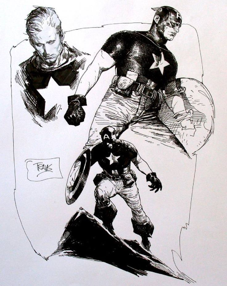 Captain America by Travis Charest