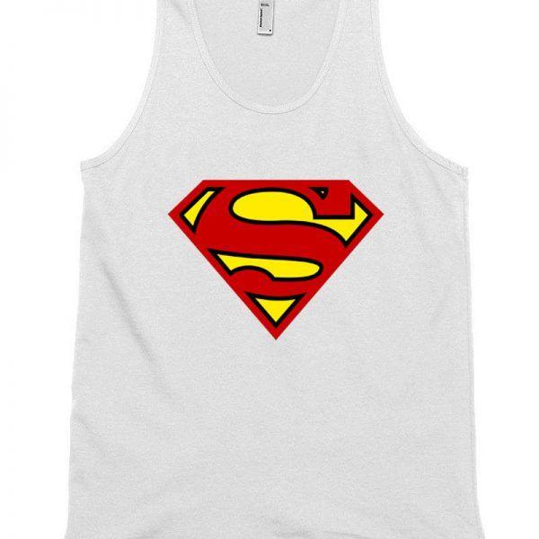 Superman Logos Unisex Tank Top