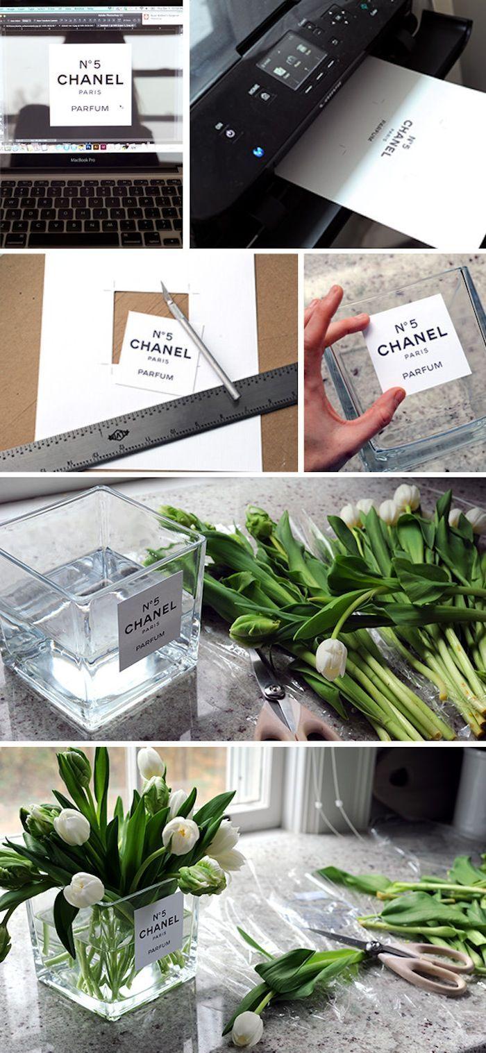 Plantas (ideia de vidro de perfume)