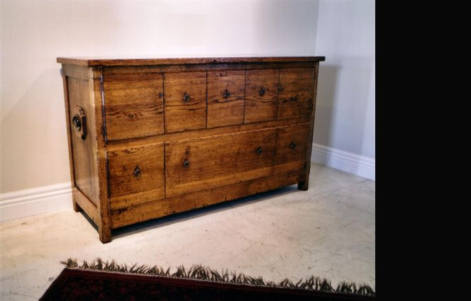 French oak - Tuscan Chest - Antique Oil Finish