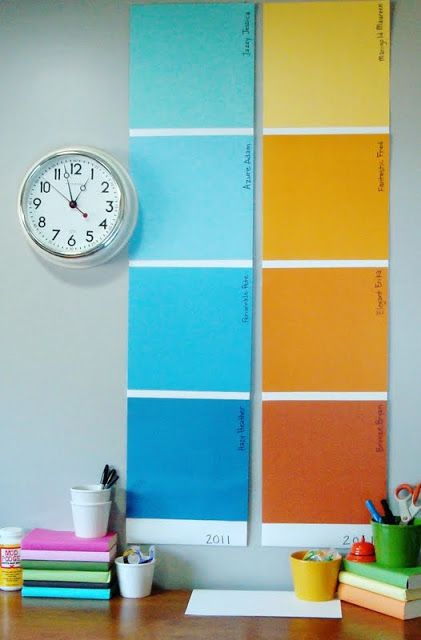 25 Best Ideas About Paint Sample Wall On Pinterest Gray