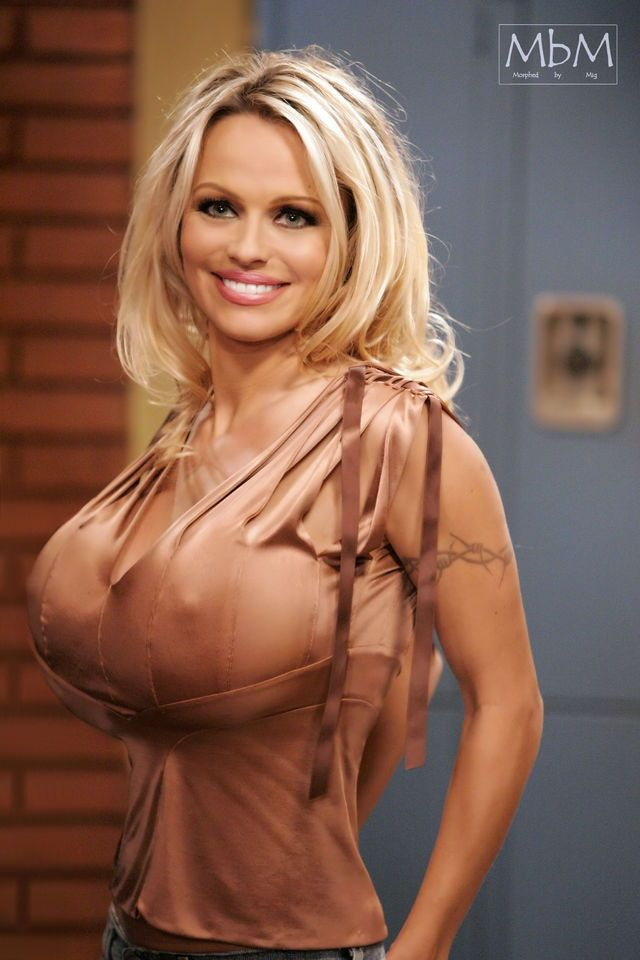 Rascal pick - Pamela Anderson - Busty Beauty - Breast Expansion - Celebrity