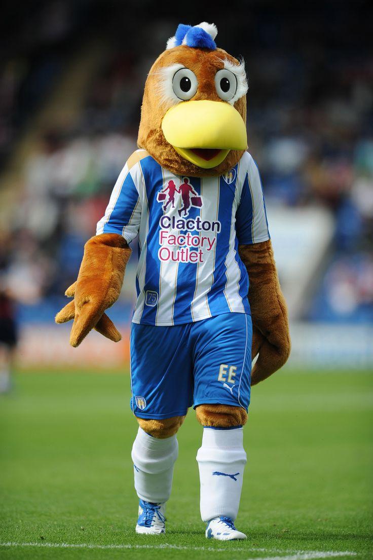 Eddie the eagle football mascot costume eagle mascot