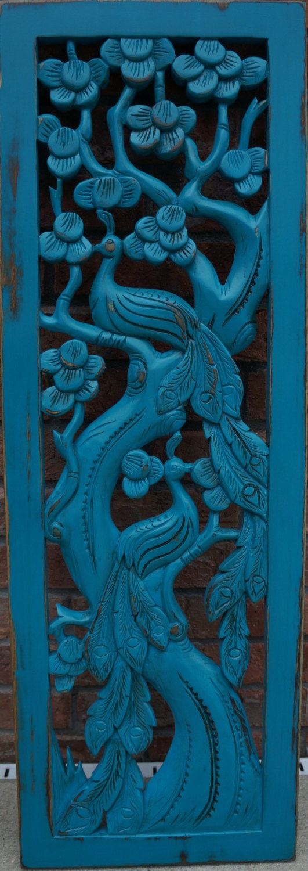 Shabby Chic Ornate Peacock Wall Art. $35.00, via Etsy.