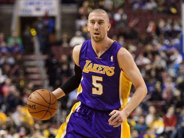 Lakers trade Steve Blake to Warriors for MarShon Brooks, Kent Bazemore via @USA TODAY