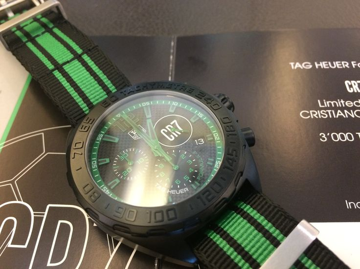 Tag Heuer Formula 1 Ronaldo limited edition