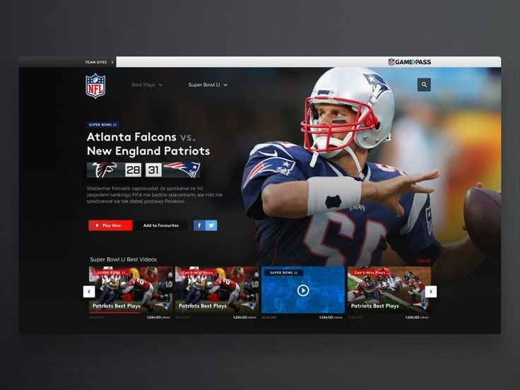 NFL Video Player