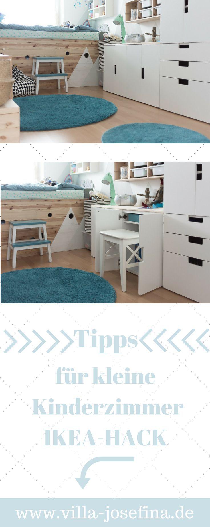 Ideen Fur Kleine Kinderzimmer Integrierter Schreibtisch Ikea Hack In Der Kinderzi I Kleines Kinderzimmer Kinder Zimmer Kleines Kinderzimmer Einrichten