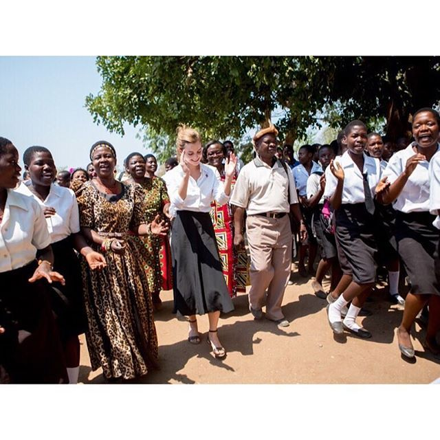 "I had the most amazing day in Malawi today.  Thank you President Mutharika for being a #HeForShe Impact Champion and for making gender equality a priority in your Government! Thank you to all the traditional leaders who are implementing President Mutharika's policies - especially Chief Kachindamoto (she's in the photo with me, she's formidable and has been nicknamed ""The Terminator""!). She gave me such a warm welcome today. She has implemented the annulment of so many child marriages and…"