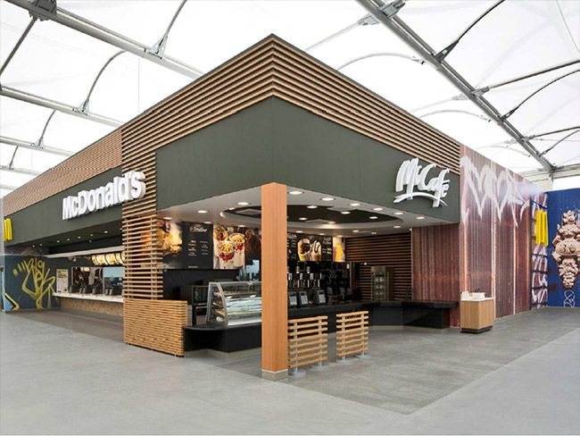 Mc Donald's Olympic Restaurant interior