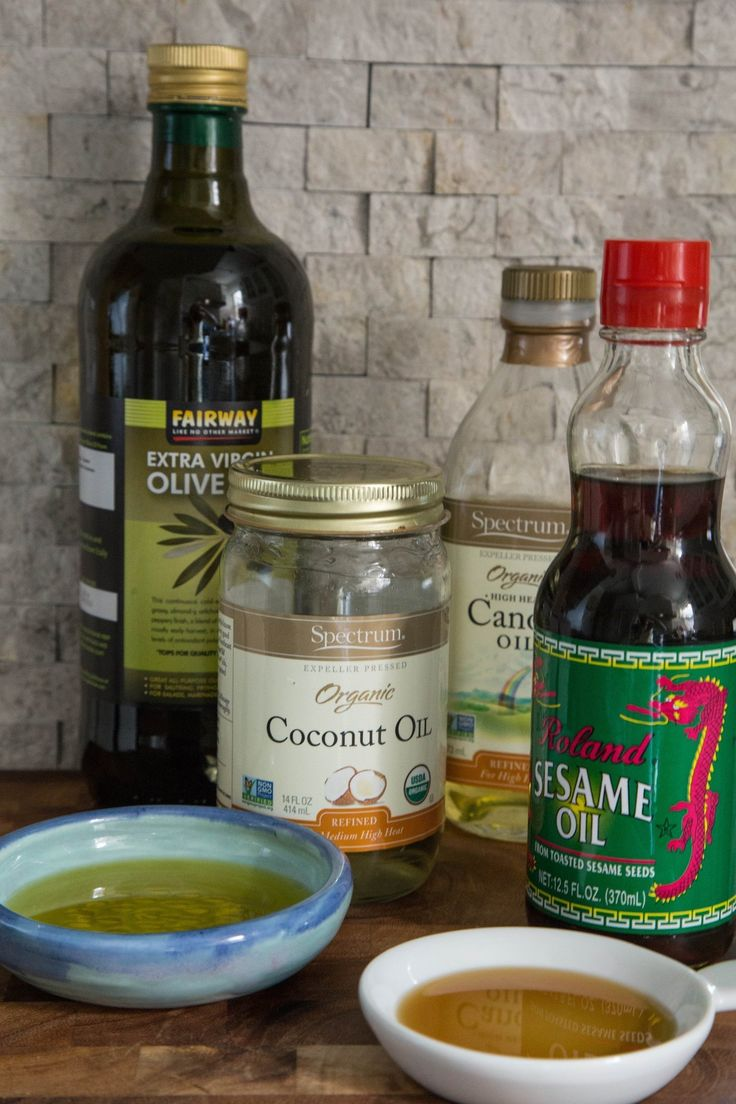Oils are extracted from all different kinds of seeds, nuts, and plants, and to be honest, choosing one can be a bit overwhelming. What oils should you have in your pantry — ones you'll actually reach for on a regular basis when cooking? Here are the four categories of cooking oils we use the most, and the best ways to use them!
