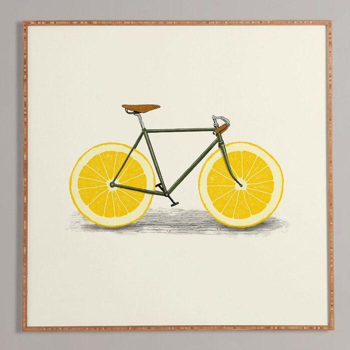 'Zest I' Framed Painting Graphic Art Print