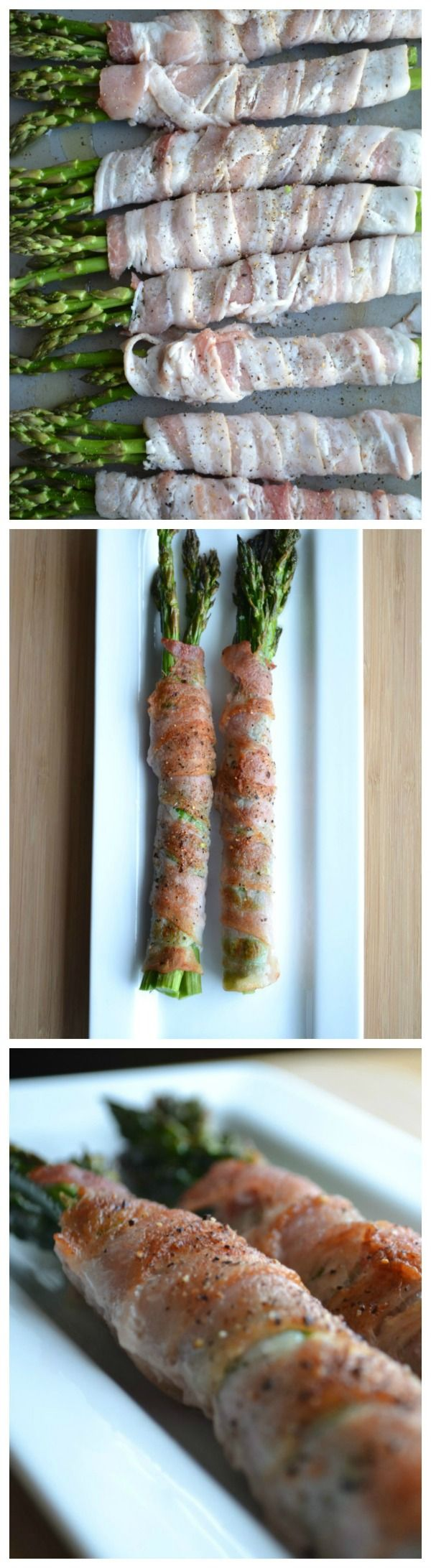 This is an unbelievably easy recipe that's perfect for weekend barbecues or a weeknight side dish! 5.0 from 2 reviews Print Bacon Wrapped Asparagus Prep time: 5 mins Cook time: 20 mins ...