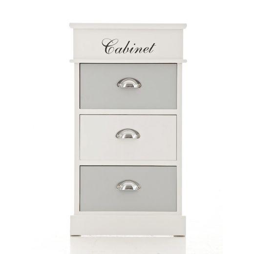 Komoda s 3 zásuvkami Cabinet, 69 cm - 1