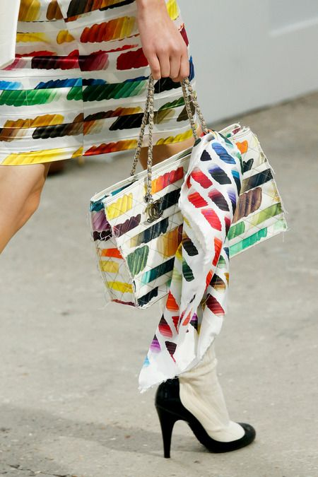 In Detail: Chanel, Spring 2014.