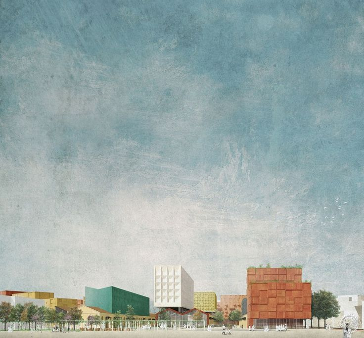Studio 015 Paola Viganò 赢得罗马Progetto Flaminio区总体规划竞赛第6张图片