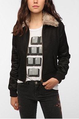 OBEY Public Ivy Wool Bomber Jacket