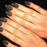 cool dark gothic nail designs