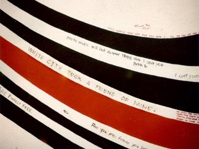 Autumn De Wilde  /the super early Elliott Smith wall/