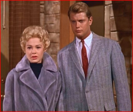 Troy Donahue and Sandra Dee