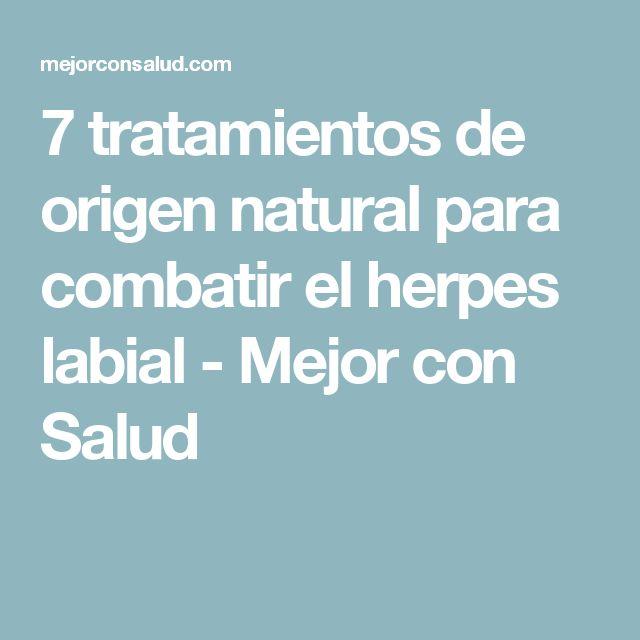 7 tratamientos de origen natural para combatir el herpes labial - Mejor con Salud