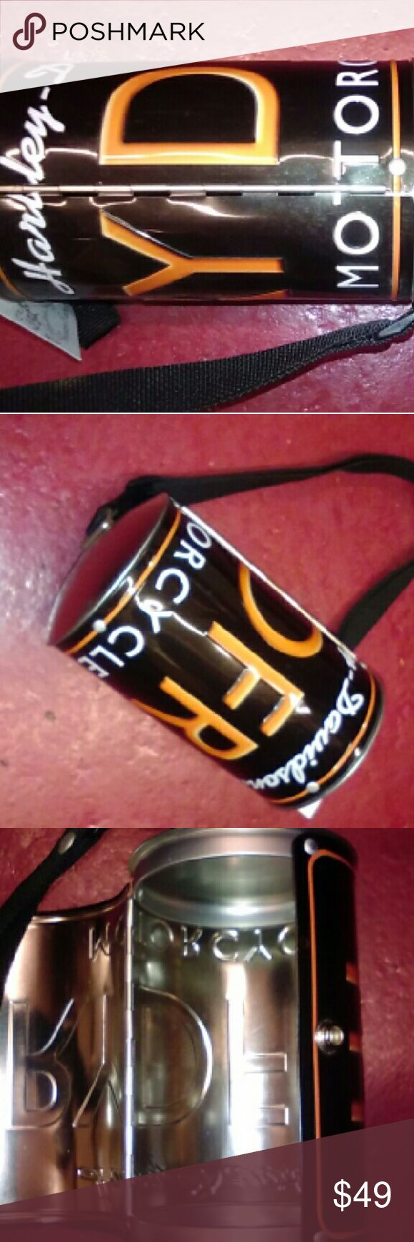 Harley Davidson License Plate Crossbody Purse NWOT NWOT Harley Davidson license plate small crossbody purse. Great gift!  Will ship right away.  Check out my other designer items Bags Crossbody Bags