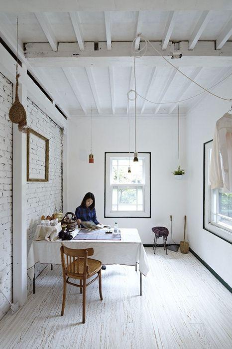 Minimalism, Scandinavian style, brick, Japan