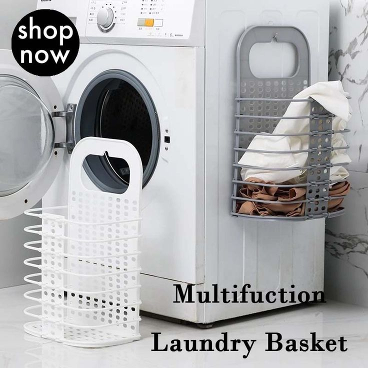 48% OFF, Household Folding Storage Wall Hanging Laundry Basket #Tipps und Tricks
