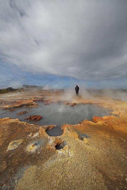 Námafjall, Hverir geothermal area, Mývatn, Northeastern Iceland