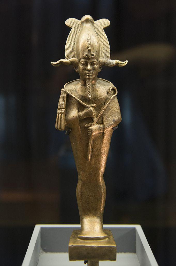 Statuette d'Osiris, dieu des morts  - Egypte - Basse Époque, VIIe -IVe siècle av. J.-C. Bronze  - Musée d'Archéologie méditerranéenne de Marseille