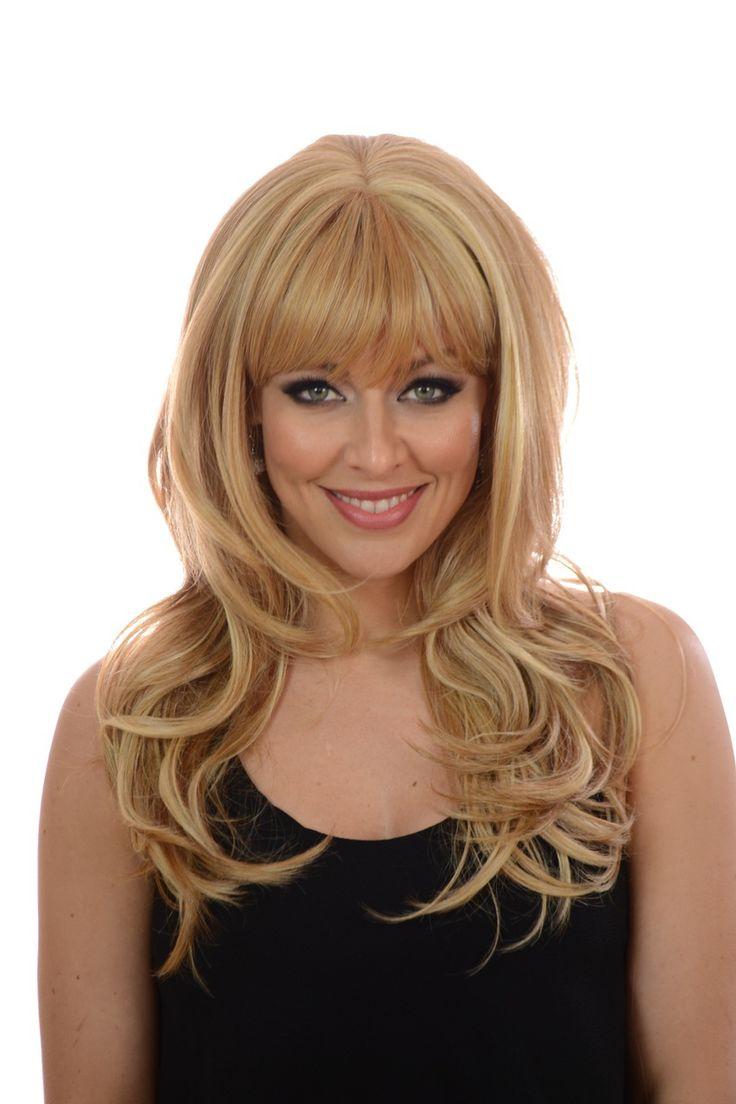 Hair By MissTresses - Bardot | Long Voluminous Face Framing Wavy Wig | 4 Shades | Soft Fringe, £85.00 (http://www.celebwigs.com/bardot-long-voluminous-face-framing-wavy-wig-4-shades-soft-fringe/)