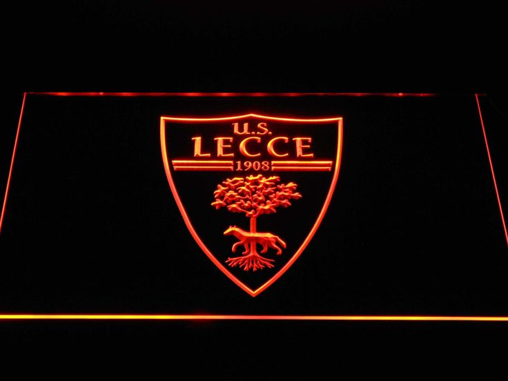 U.S. Lecce LED Neon Sign   Foto di calcio, Foto