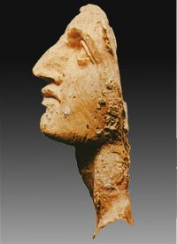 Alexander the Great, king of Macedonia-  Ivory head found in Tomb II