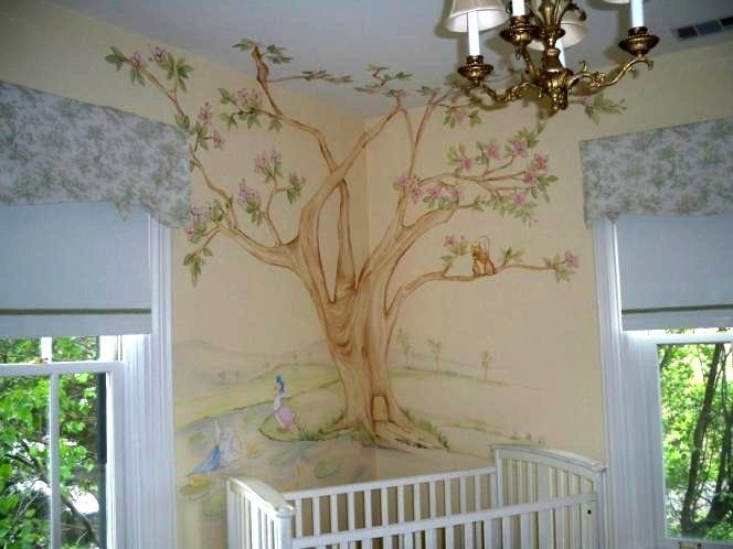 beatrix+potter+nursery+animals | baby boy nursery ideas | ... and sweet animals grace this delicate ...