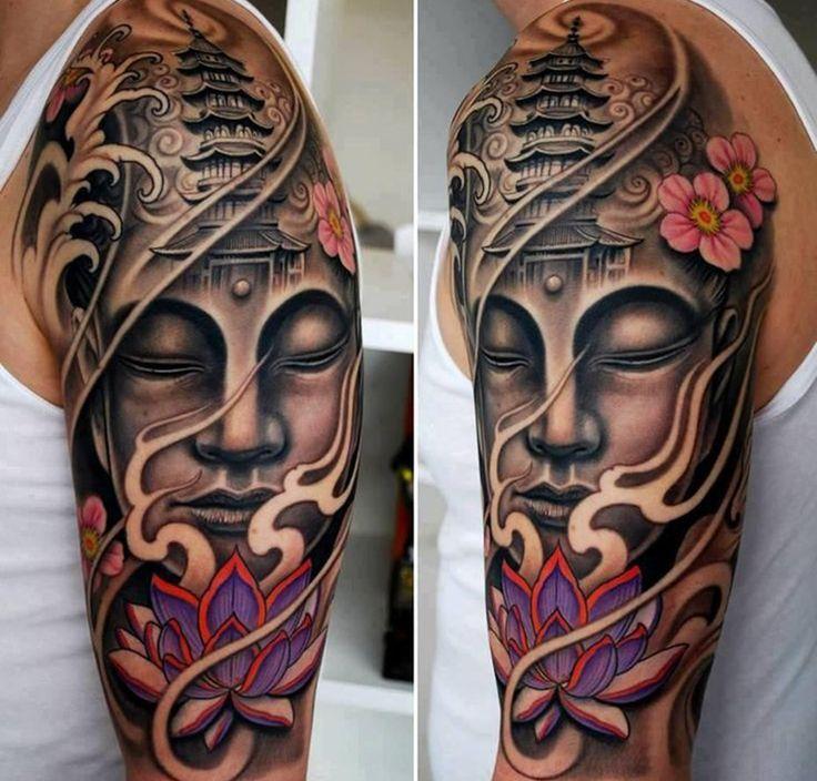 Recopilamos diferentes tipos de tatuajes de Buda mientras que también ahondamos en el significado del concepto «Buda». Un símbolo del budismo.