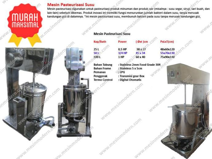 Jual mesin pasteurisasi susu murah pasteurisasi mesin for Jual kitchen set stainless steel
