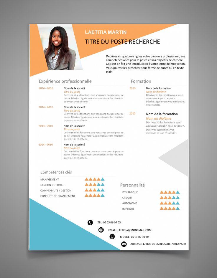The 25+ best Best cv template ideas on Pinterest Best resume - attractive resume template