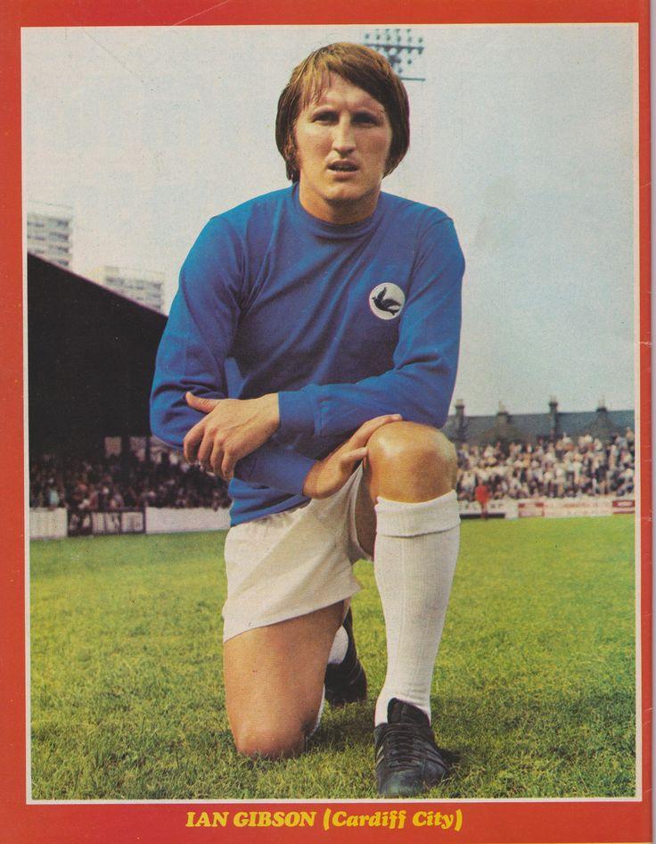 Ian Gibson Cardiff City 1970