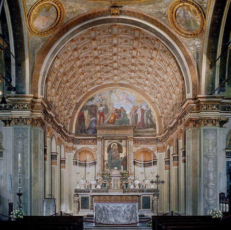 Donato Bramante, finto coro nella chiesa di Santa Maria presso San Satiro, Milano.