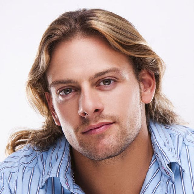 Pictures of Men's Long Haircuts, Gallery 3: A Long Rocker Style