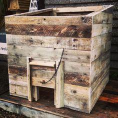 reclaimed wood coal bunker