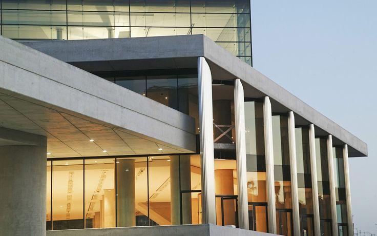 Nowe Akropolis. Ateny, Grecja.  Szkło: SGG DIAMANT, SGG LITE-FLOOR, SGG STADIP PROTECT, SGG SERALIT. #glass #architecture #desing #museum