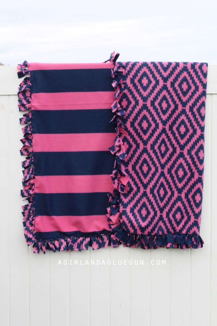 17 Best Ideas About Fleece Blankets On Pinterest No Sew