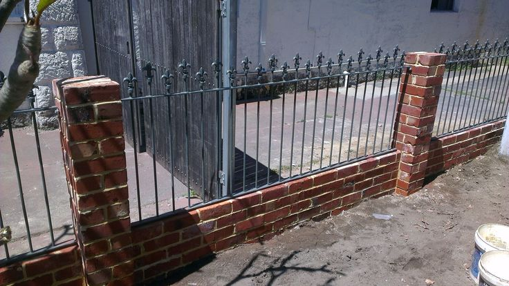 99 Best Images About Privacy Iron Fence On Pinterest