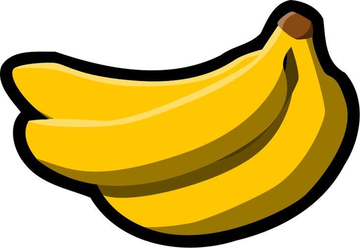 45+ Banana Clipart Black And White